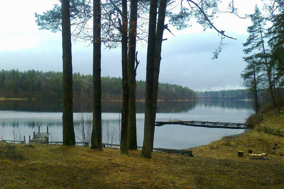 Jezioro Łęsk Nurkowanie